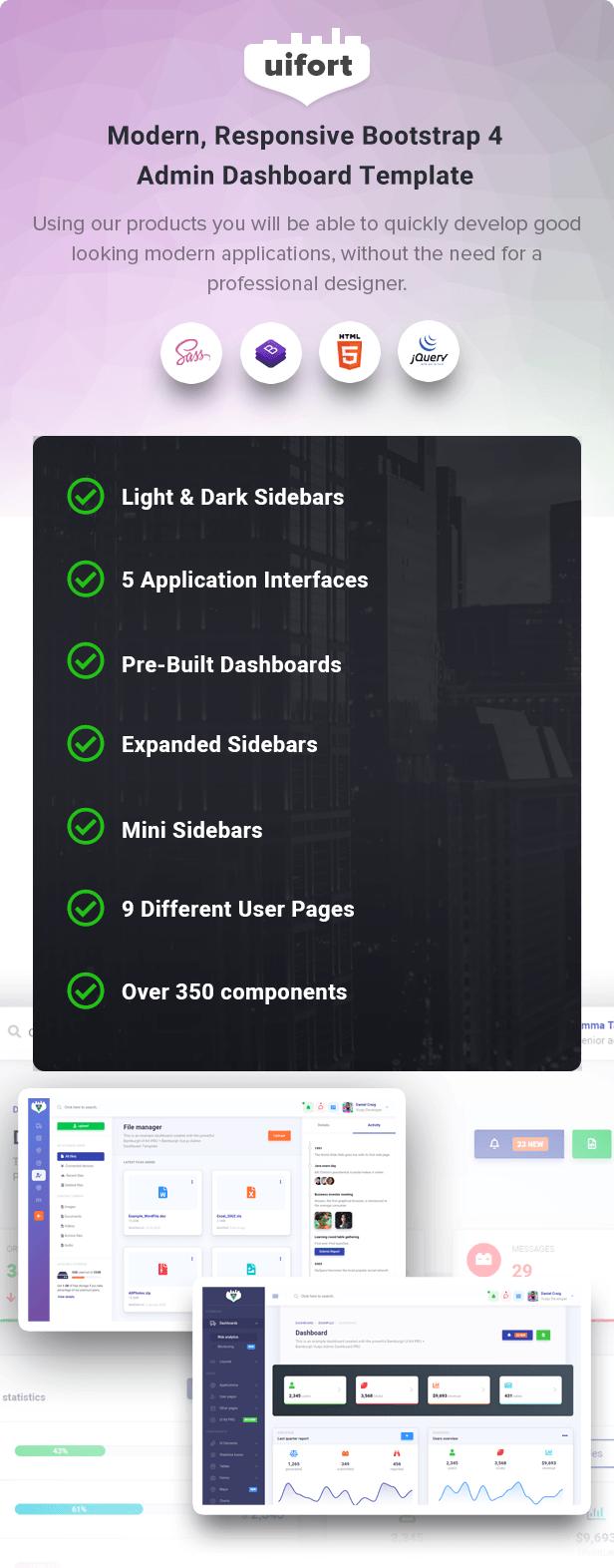 Bamburgh - Bootstrap Admin Dashboard Template - 2